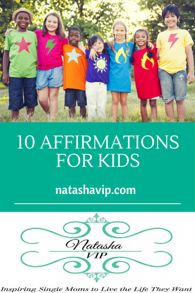 10 Affirmations for Kids