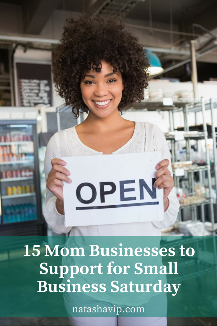 15 Mom Businesses to Support for Small Business Saturday