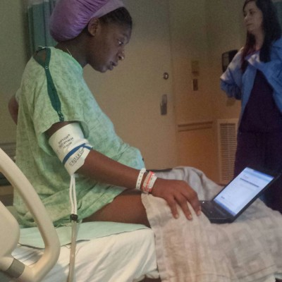 New Mom, Tommitrise, Completes College Exam While in Labor