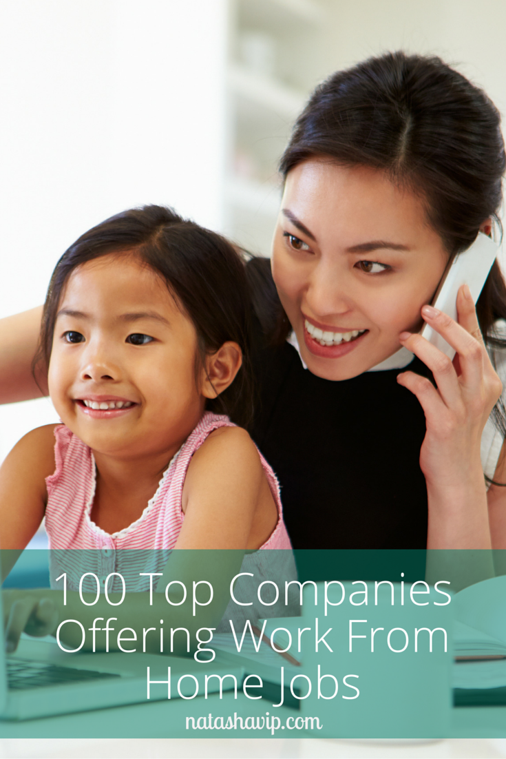 100 Top Companies Offering Work From Home Jobs
