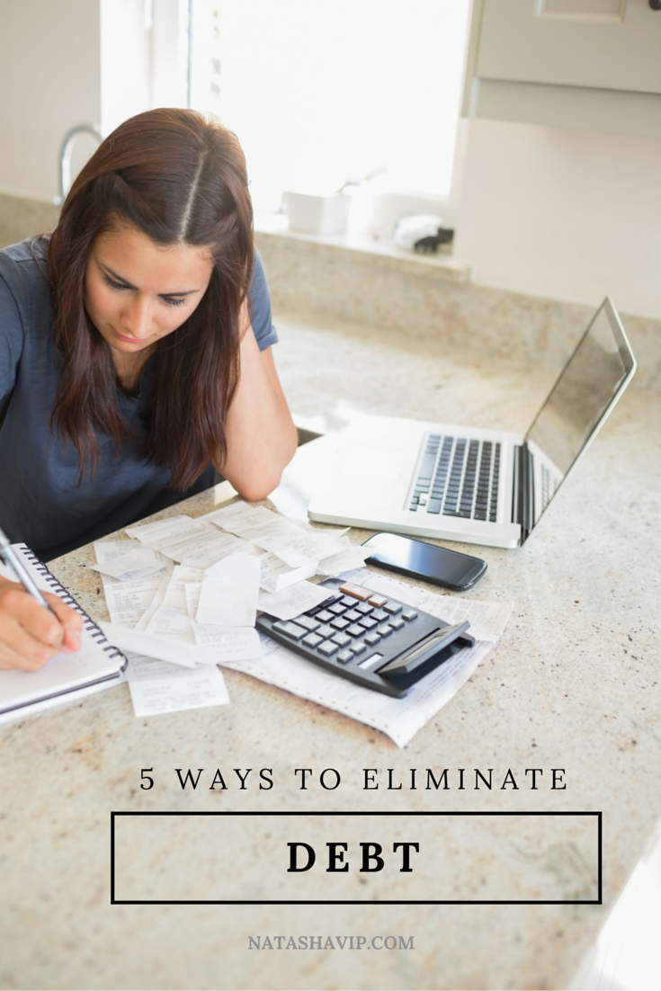 5 Ways to Eliminate Debt