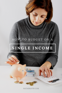 How to Budget on a Single Income