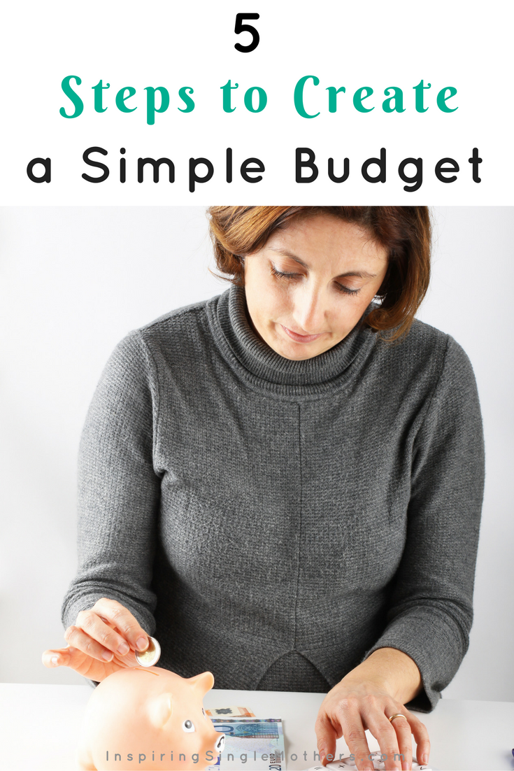 5 Steps to Create a Simple Budget